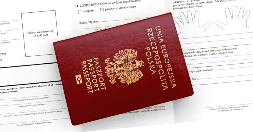 paszport, polski, dokument, wniosek