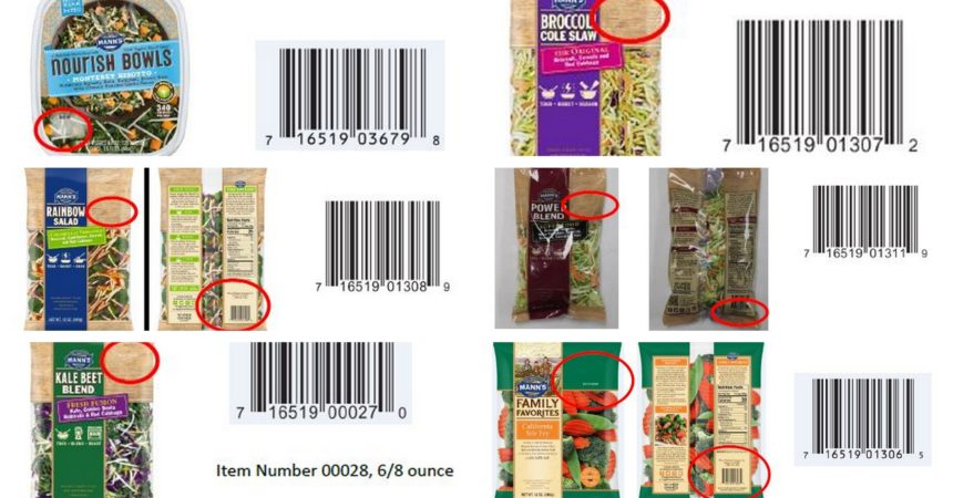 Masowy recall mieszanek warzywnych Mann Packaging