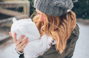 Zimowe spacery z dzieckiem